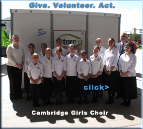 Cambridge Girls Choir, United Way Kickoff 2012,Cambridge Now