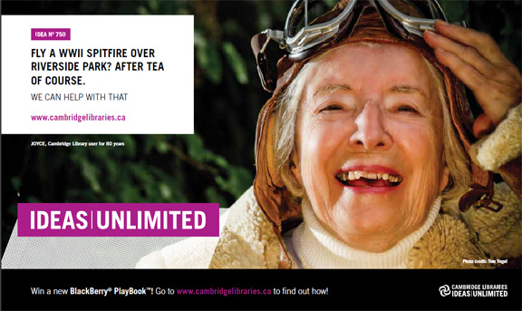 Joyce Cambridge Libraries Branding Ideas Unlimited - on Cambridge Now Media