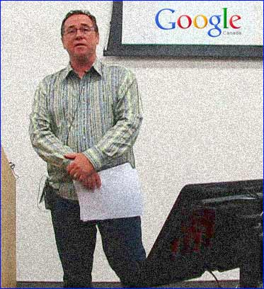 Dr, Steven Woods  Lead Engineer Google Canada Kitchener Waterloo