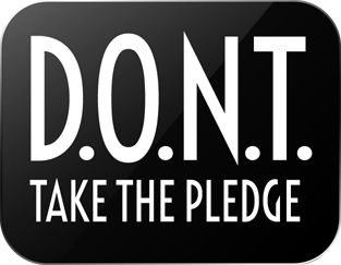 Dont Text and Drive Take the Pledge logo