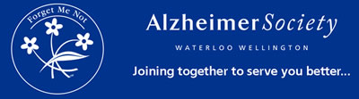 Alzheimer Society Waterloo Wellington logo