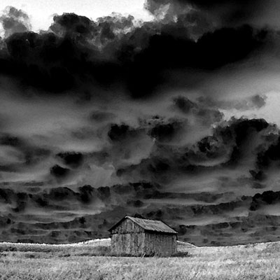 Barn In A Storm image
