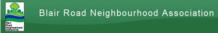 Blair Road Neighbourhood Association logo