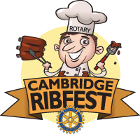 Cambridge Rotary Ribfest logo