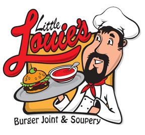 Little Louie's Burger Joint & Soupery logo